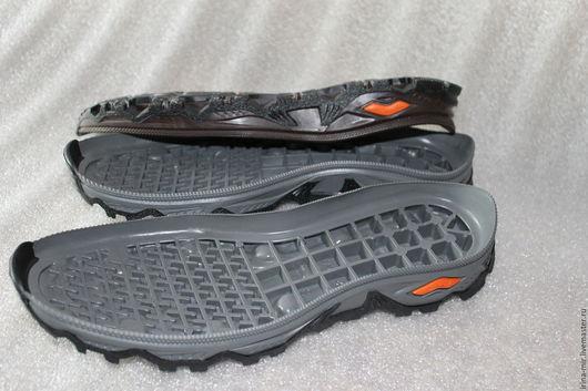 Другие виды рукоделия ручной работы. Ярмарка Мастеров - ручная работа. Купить Подошва для мужской обуви SNOW. Handmade. Серый