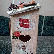 """Для дома и интерьера ручной работы. Ярмарка Мастеров - ручная работа Чайный домик """"Сладкие воспоминания"""". Handmade."""