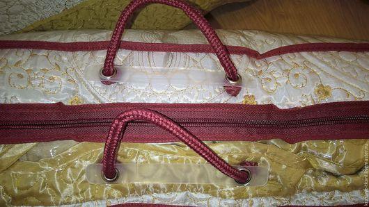 Упаковка ручной работы. Ярмарка Мастеров - ручная работа. Купить Сумка ПВХ, для хранения одеял,пледов, подушек.. Handmade.