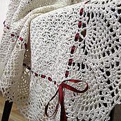 Для дома и интерьера handmade. Livemaster - original item Plaid baby blanket knitted baby. Handmade.