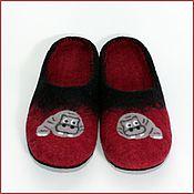 """Обувь ручной работы. Ярмарка Мастеров - ручная работа Тапочки """"Бегемотики"""". Handmade."""