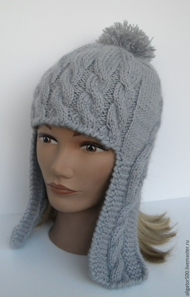 шапки с ушками женские фото