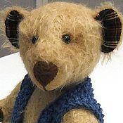 Куклы и игрушки ручной работы. Ярмарка Мастеров - ручная работа мишка-тедди Бернард. Handmade.