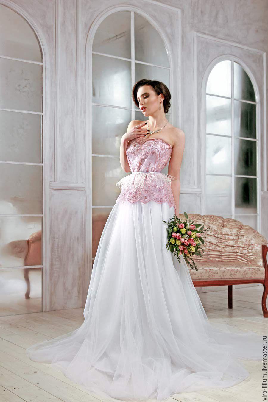 Ярмарка мастеров платья свадебные