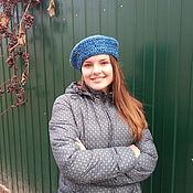Аксессуары handmade. Livemaster - original item beret crochet. Handmade.