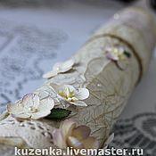 Свадебный салон ручной работы. Ярмарка Мастеров - ручная работа Винтаж - тубус для свидетельства о браке. Handmade.