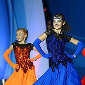 """Одежда ручной работы. Ярмарка Мастеров - ручная работа Платья для хореографической зарисовки """"Шляпы, танцы и очки. Handmade."""
