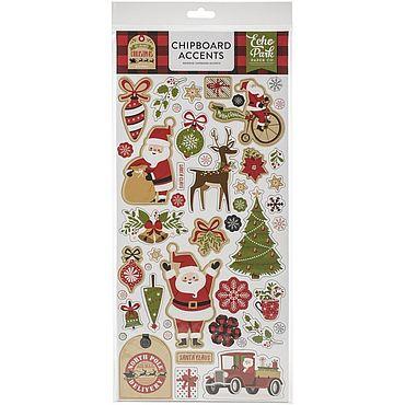 Материалы для творчества ручной работы. Ярмарка Мастеров - ручная работа Чипборд My Favorite Christmas Chipboard. Handmade.