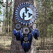 Для дома и интерьера handmade. Livemaster - original item Totem dream catcher