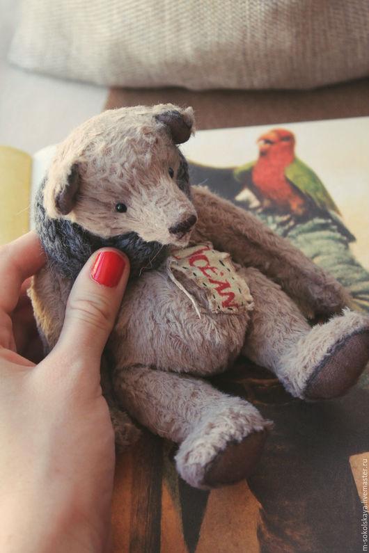 Мишки Тедди ручной работы. Ярмарка Мастеров - ручная работа. Купить Мишка тедди Martin E., 18 см. Handmade.