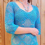 Одежда ручной работы. Ярмарка Мастеров - ручная работа Пляжное платье. Handmade.