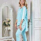 Одежда handmade. Livemaster - original item Tiffany`s Active summer suit, at a super price!!!. Handmade.