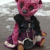 """Куклы и игрушки ручной работы. Ярмарка Мастеров - ручная работа Медведь Тедди. """"Коко с горжеткой""""). Handmade."""