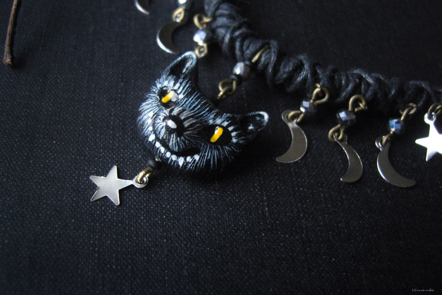 'Gray top - star shepherd ' necklace with pendant, Necklace, Krasnogorsk,  Фото №1