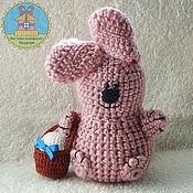 Подарки к праздникам ручной работы. Ярмарка Мастеров - ручная работа пасхальный зайчик. Handmade.