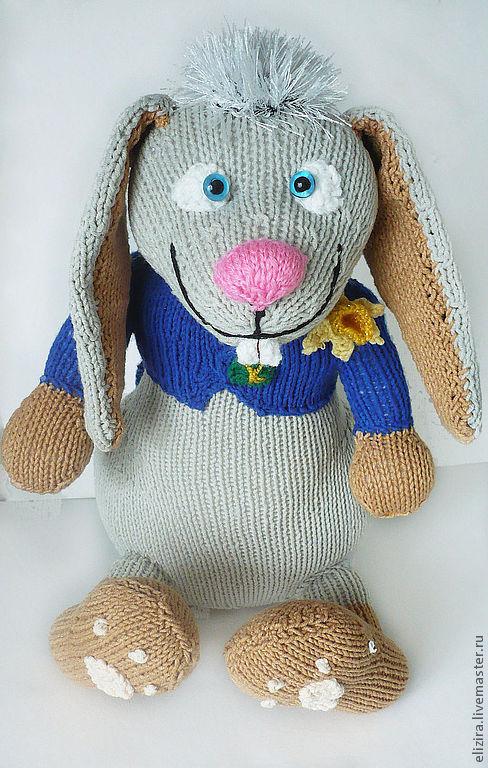 """Игрушки животные, ручной работы. Ярмарка Мастеров - ручная работа. Купить игрушка """"Кролик с зазеркалья"""". Handmade. Заяц, игрушка, дети"""