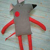 """Мягкие игрушки ручной работы. Ярмарка Мастеров - ручная работа Мягкая игрушка Мышонок""""Горошек"""". Handmade."""