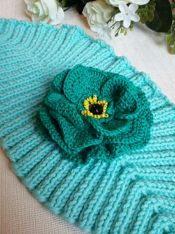 Вязаная повязка на голову для девочки (36 фото детские) 35
