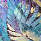 """Шали, палантины ручной работы. Ярмарка Мастеров - ручная работа. Купить """"Сумеречный сад"""" палантин тонкий валяный. Handmade. Летний"""