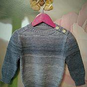 Одежда ручной работы. Ярмарка Мастеров - ручная работа Детский джемпер вязаный. Handmade.