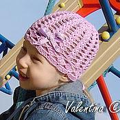 Работы для детей, ручной работы. Ярмарка Мастеров - ручная работа Сиреневая шапочка. Handmade.