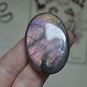 Материалы для творчества handmade. Livemaster - original item Labradorite. Cabochon 47 X 33 X 8. Handmade.