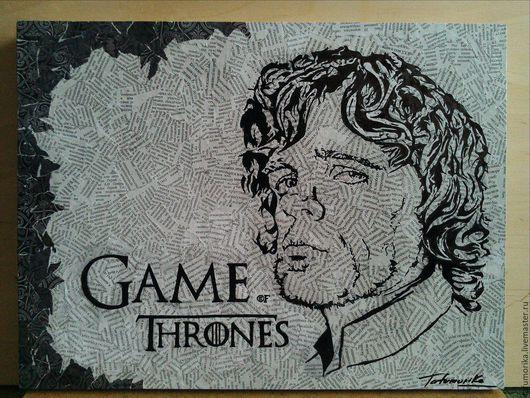 Люди, ручной работы. Ярмарка Мастеров - ручная работа. Купить Game of Thrones. Tyrion Lannister. Handmade. Серый