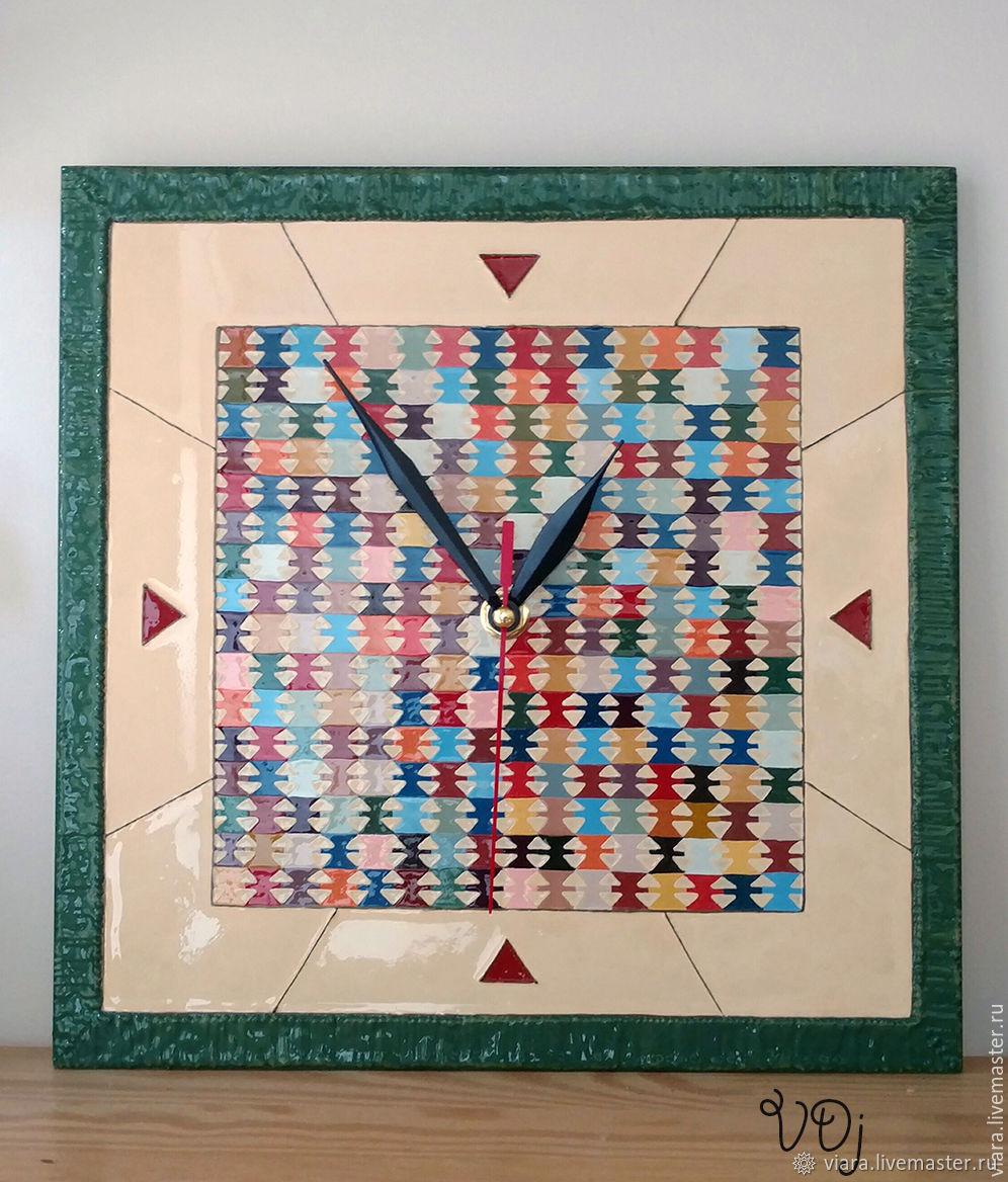 """Часы Этногеометрия I (Коллекция """"BG Folklore""""), Часы, Киев, Фото №1"""