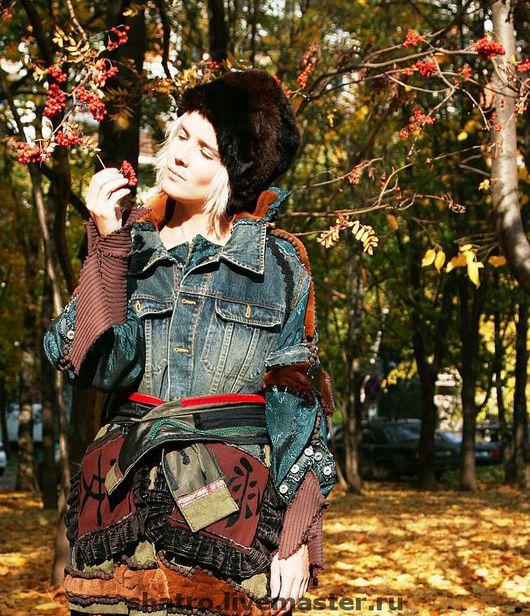 Верхняя одежда ручной работы. Ярмарка Мастеров - ручная работа. Купить куртка СХОЖУ-КА Я В ГОСТИ. Handmade.