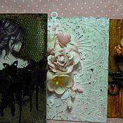 Открытки ручной работы. Ярмарка Мастеров - ручная работа Теги поздравительные/магниты на холодильник. Handmade.
