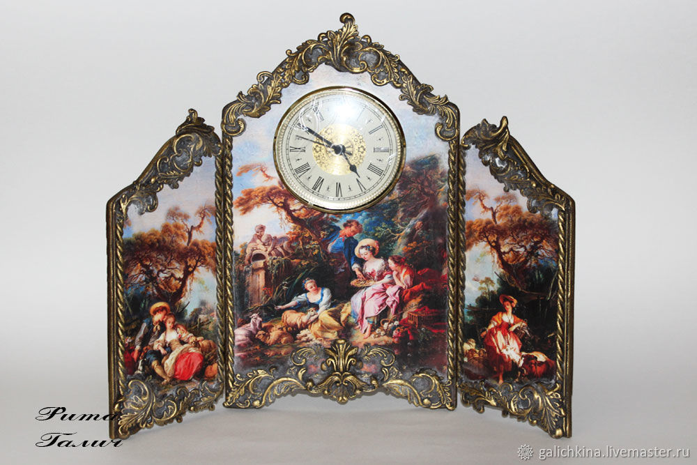 Watch the screen in the Rococo style, Watch, Volgograd,  Фото №1