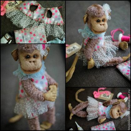 Текстильная обезьянка мастер класс