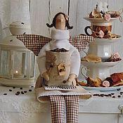 Куклы и игрушки ручной работы. Ярмарка Мастеров - ручная работа Тильда Кофейная Фея.. Handmade.