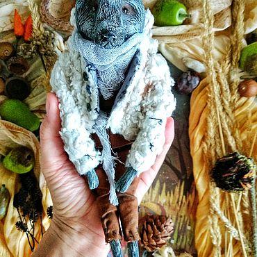 Куклы и игрушки. Ярмарка Мастеров - ручная работа Коллекционная игрушка Волк. Handmade.