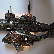Для дома и интерьера ручной работы. Ярмарка Мастеров - ручная работа Подводные силы альтернативной России. Handmade.