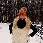 Аксессуары handmade. Livemaster - original item Hat female knitted