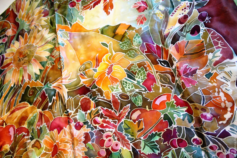 Платок из батика