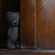 Куклы и игрушки ручной работы. Ярмарка Мастеров - ручная работа Голубоглазый медведь. Handmade.