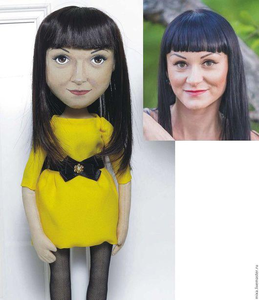 Портретные куклы ручной работы. Ярмарка Мастеров - ручная работа. Купить Анна, кукла с портретным сходством. Handmade. Портретная кукла