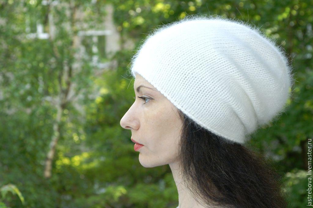 Вязание шапок из ангоры