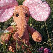 """Куклы и игрушки ручной работы. Ярмарка Мастеров - ручная работа Розовый слоник """"Софьюшка"""". Handmade."""