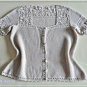 Одежда ручной работы. Ярмарка Мастеров - ручная работа Блузка Вдохновение. Handmade.
