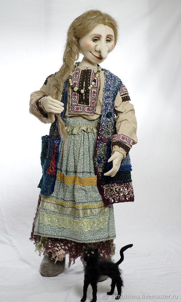 Баба Яга кукла рост 1 метр, Мягкие игрушки, Москва,  Фото №1