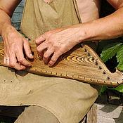 Музыкальные инструменты ручной работы. Ярмарка Мастеров - ручная работа Гусли звончатые крыловидные. Handmade.