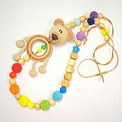 Одежда ручной работы. Ярмарка Мастеров - ручная работа Слингобусы с игрушкой Медведь. Handmade.