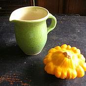 """Посуда ручной работы. Ярмарка Мастеров - ручная работа Молочник """"Мохито"""" Хюгге. Handmade."""