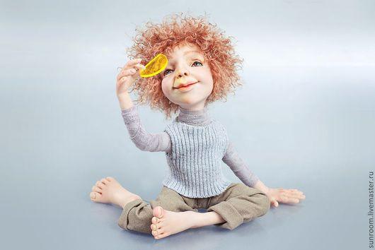 Коллекционные куклы ручной работы. Ярмарка Мастеров - ручная работа. Купить Изменяя миры. Handmade. Серый, смотрит, авторская кукла