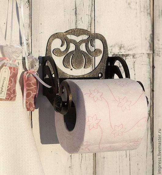 Ванная комната ручной работы. Ярмарка Мастеров - ручная работа. Купить держатель для туалетной бумаги Цветок Модерн. Handmade. прованс