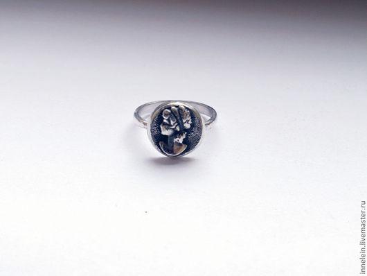 """Кольца ручной работы. Ярмарка Мастеров - ручная работа. Купить Серебряное кольцо """"Камея"""". Handmade. Серебряный, серебряное кольцо"""