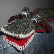 Куклы и игрушки ручной работы. Ярмарка Мастеров - ручная работа Крокодил- СуперДил.. Handmade.